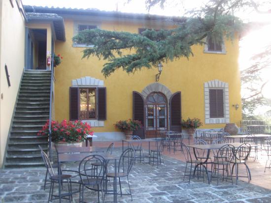Vicchio, Itália: Courtyard