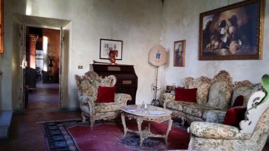 Vicchio, Italia: Lounge area