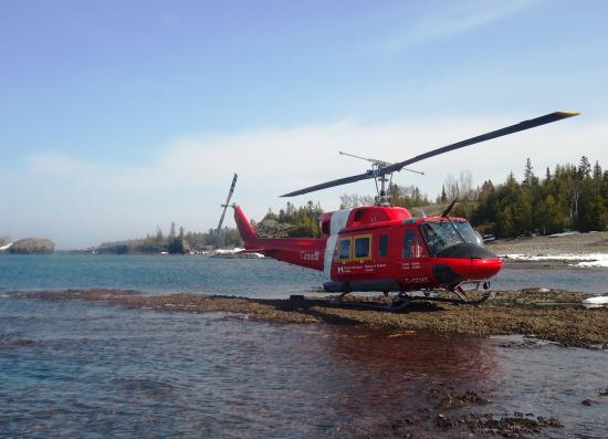 Batchawana Bay, Canada: Coast Guard