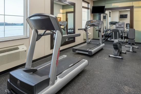 Bellevue, IA: Fitness Room