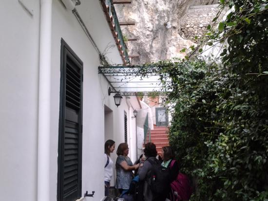 Villa Adriana Amalfi B&B: Área externa a recepção