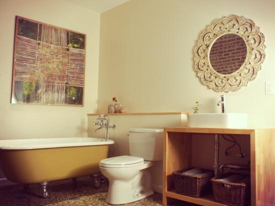 Haverstraw, Νέα Υόρκη: HEP Room's Bathroom