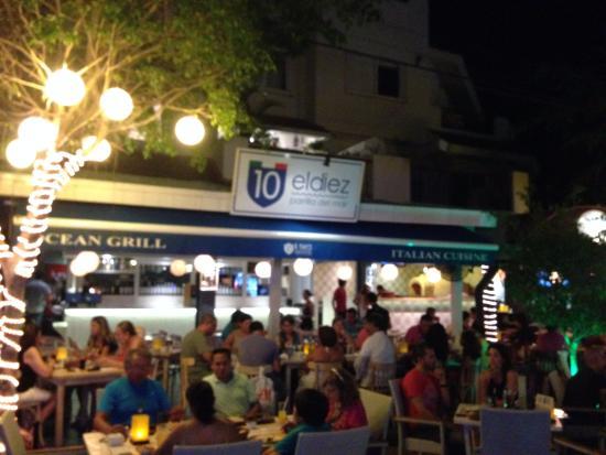 Fachada Do Restaurantes Picture Of El Diez Playa Del
