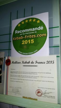 Le Pacha: Excellent kebab je recommande.