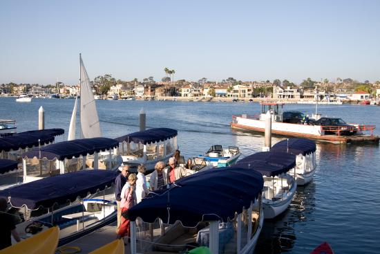 Balboa Island, Kalifornien: A professional team with great boats