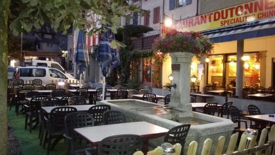 Restaurant chinois du tonneau