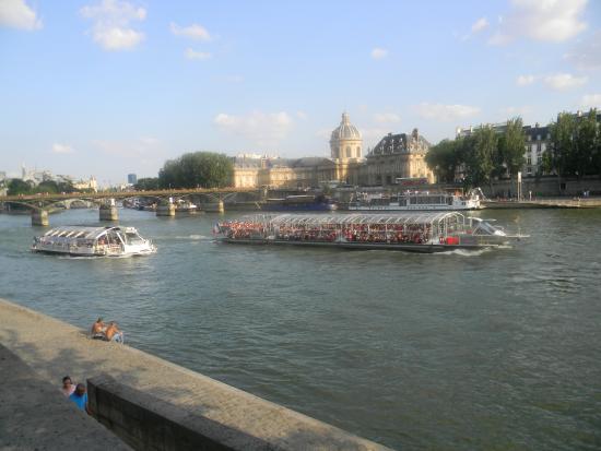 Parizh, Rússia: Прогулки по Сене Париж