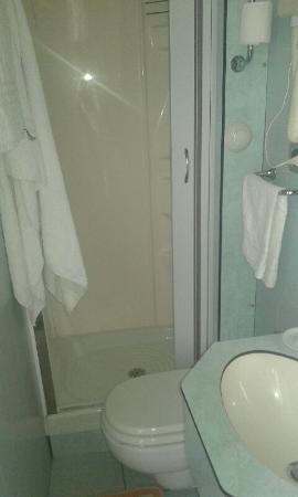 Hotel Villa Rosa : Il bagno