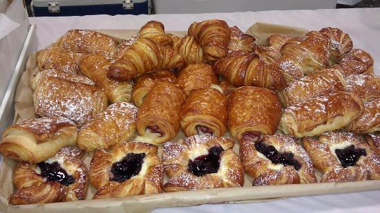 Adirondack coffee: Croissant Platter