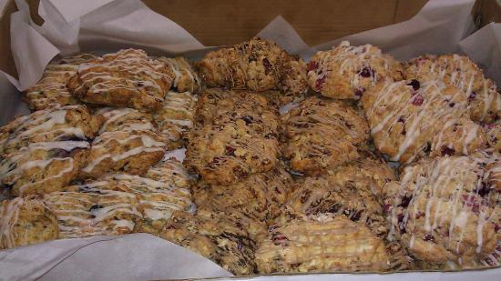 Adirondack coffee: Scones for Breakfast