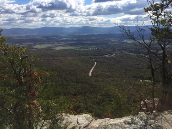 Massanutten Storybook Trail: View of the valley