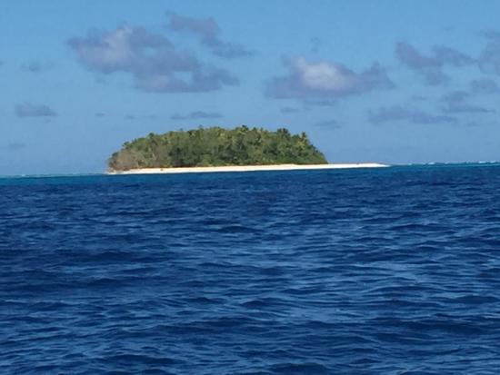 Фунафути, Тувалу: Fualopa islet from the lagoon