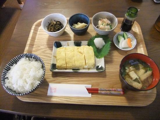 Rhizome : 出汁巻き玉子定食