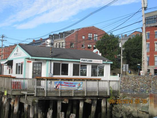 View of restaurant  Picture of Portland Lobster Co, Portland