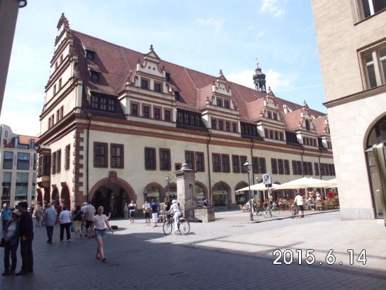Hotel Berlin: Municipio de Leipzig