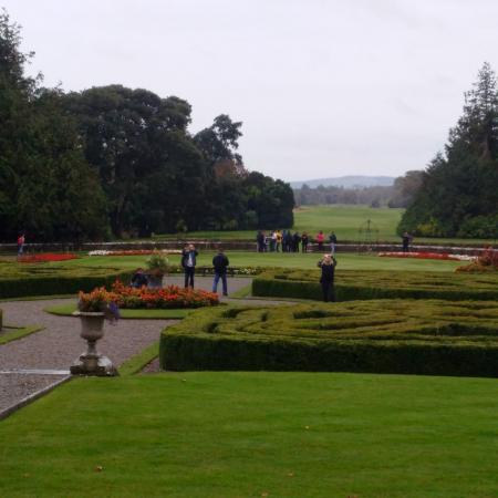 Gardens view from drawing room picture of adare castle for Garden rooms limerick