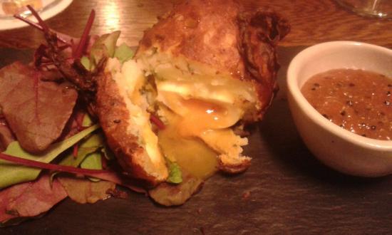 Onion Bhaji scotch egg