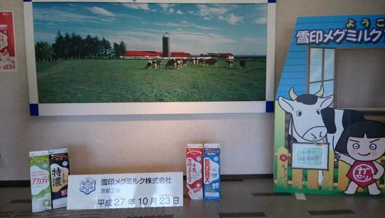 Yukijirushi Meg Milk Kyoto Factory Tour