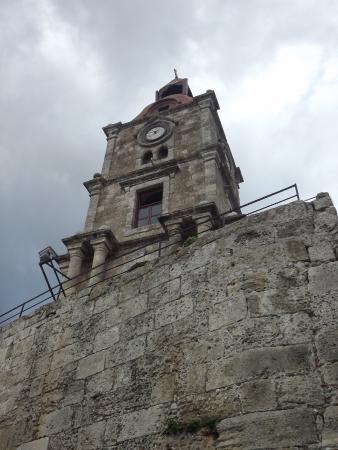 旧市街の時計塔 - Photo de Roloi Clock Tower, Rhodes (ville ...