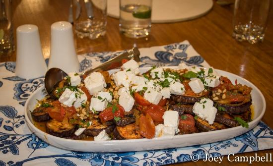 Seascape Lodge on Emu Bay: eggplant side dish