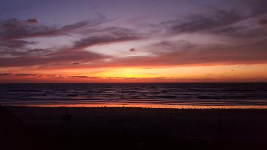 Beach At Daytona Sunrise