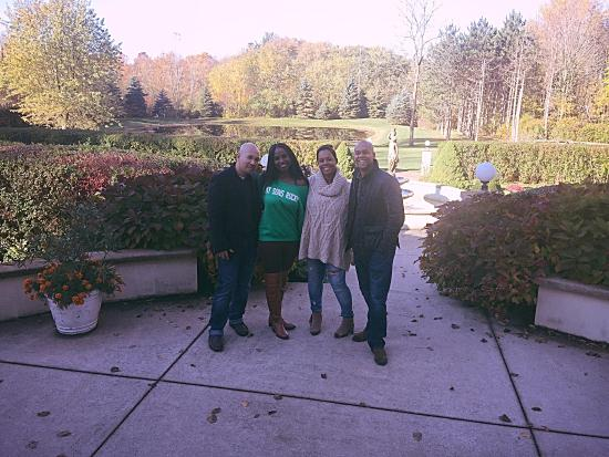 Saugatuck, MI: All pics were taken on the Belevedere property. The owner Shawn was nice enough to take the two