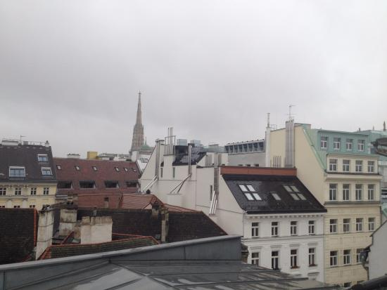 Alma Boutique-Hotel: View from roof terrace