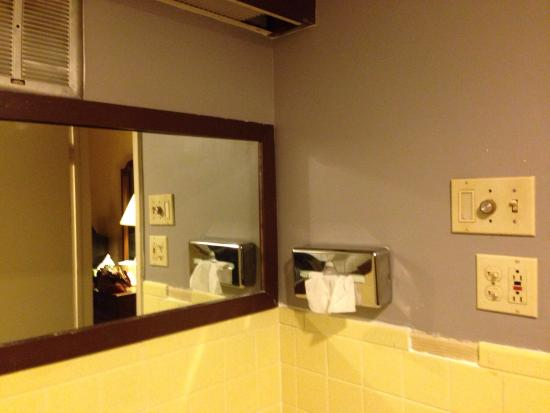 Ramada New Hartford: For the review I added called A Dump. Pic of stairway was to show there was no lighting to get u