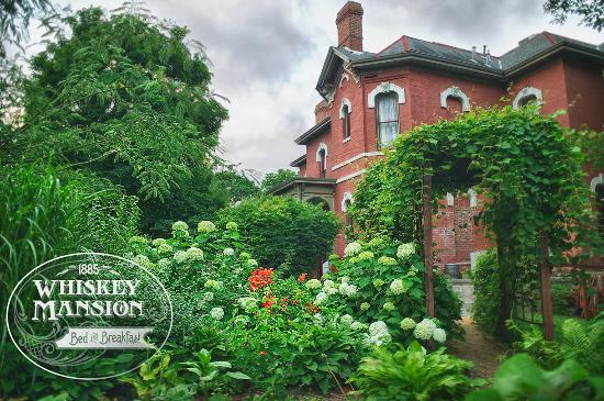 Whiskey Mansion Bed & Breakfast: Garden