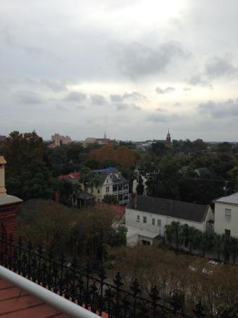 Wentworth Mansion: View from roof