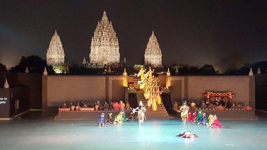 Sendratari Ramayana di Prambanan