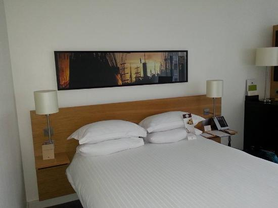 Queen Size Bed Picture Of Doubletree By Hilton Hotel Amsterdam