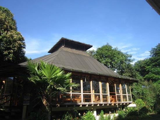 Hosteria La Roulotte: Vista del restaurante