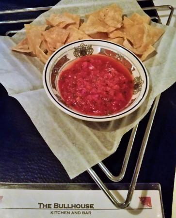 The Bullhouse: Complimentary salsa & chips.