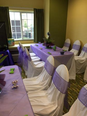 Microtel Inn & Suites by Wyndham Opelika: Reservations for Meeting Room Baby shower