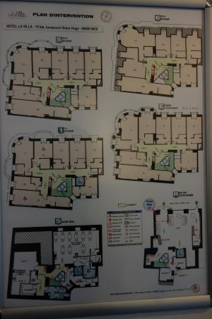 La Villa Nice Victor Hugo : Floor Plan