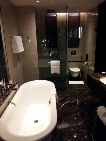 Bathroom Picture Of Pullman New Delhi Aerocity New Delhi Tripadvisor