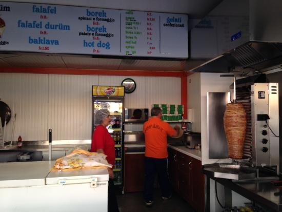 Kebab Ararat: Интерьер заведения