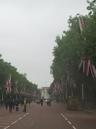 Buckingham Palace: viale
