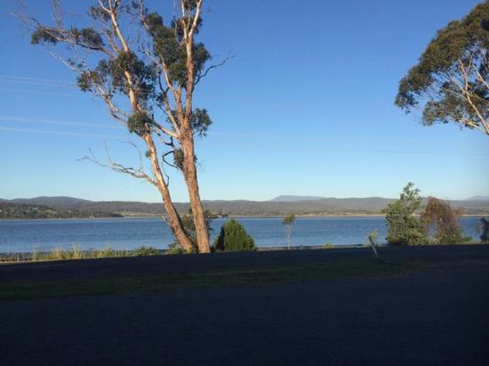 Pastimes : View from lounge/dining room of Tamar River