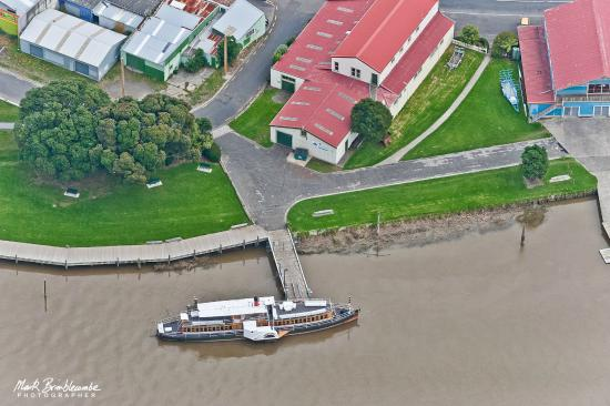 Wanganui, Νέα Ζηλανδία: We are located on the banks of the Whanganui River at 1a Taupo Quay