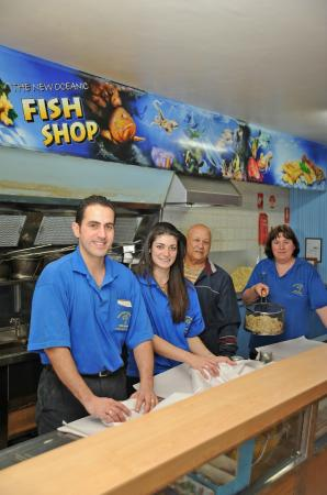 New Oceanic Fish Shop