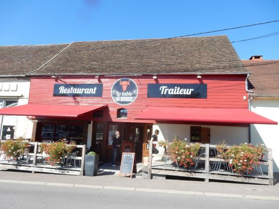 Excellent burger picture of la table du boucher autun - Restaurant la table du boucher arcachon ...