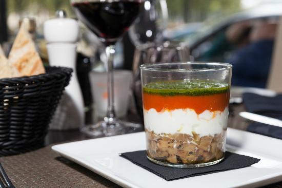 Romantica Caffe: verrines de mozzarella