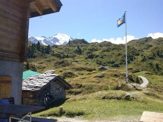 Lourtier, سويسرا: Cabane de Brunet