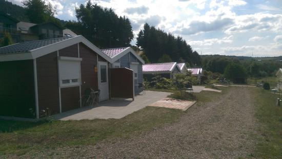 Riol, Germany: Slapen in een cabin/chalet behoort tot de mogelijkheden.