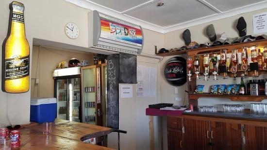 Reddersburg, แอฟริกาใต้: view of the pub