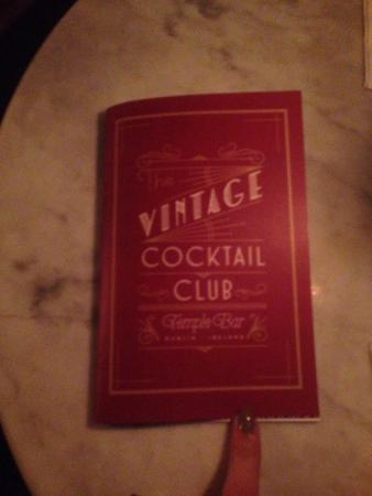 Fancy cocktails - Picture of Vintage Cocktail Club, Dublin