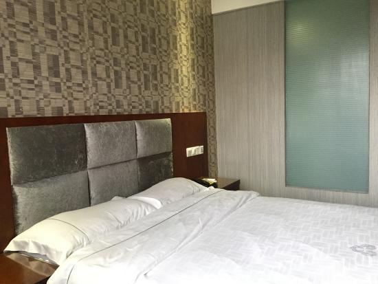Master Hotel Guangzhou Tianhe : 더블베드룸