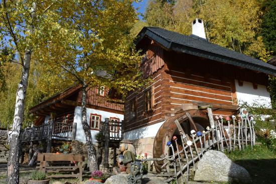 Hotel Podlesi: Mlýn v Pohádkové vesničce